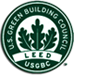 Our Commitment To Green logo Leed