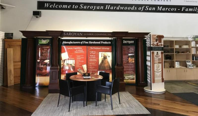 A Year in Review: 2017 at Saroyan Hardwoods San Marcos Showroom