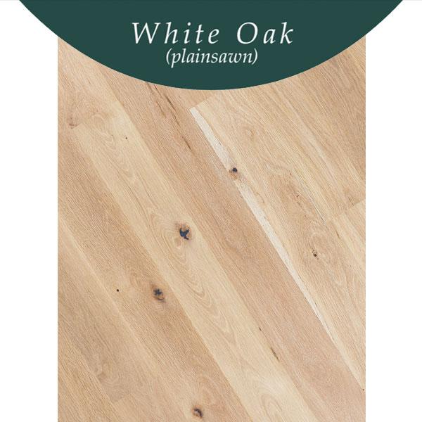 Standard Flooring Saroyan Flooring Species White Oak Plainsawn 1