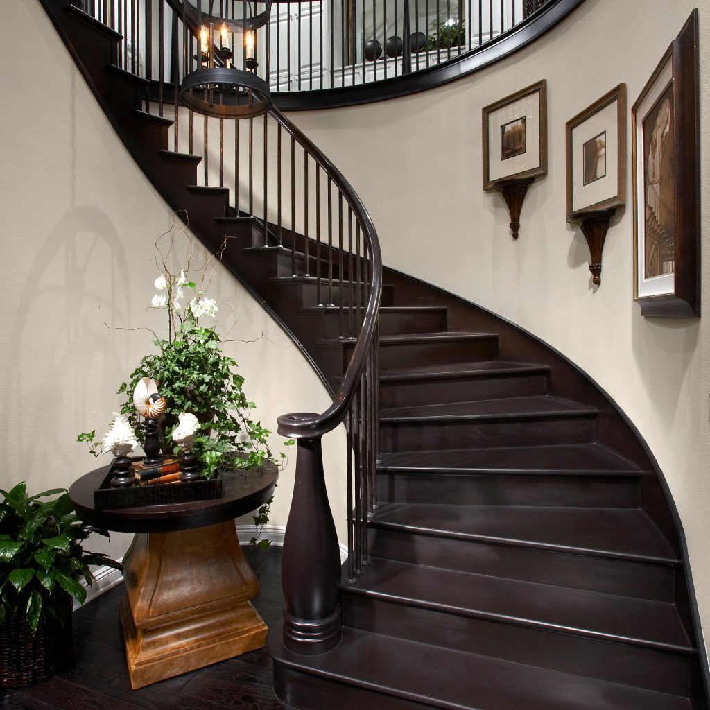 Grand Staircase, Spiral  Inspiration Saroyan Hardwoods Inspiration Gallery Spiral Grand Staircase 1024x1024
