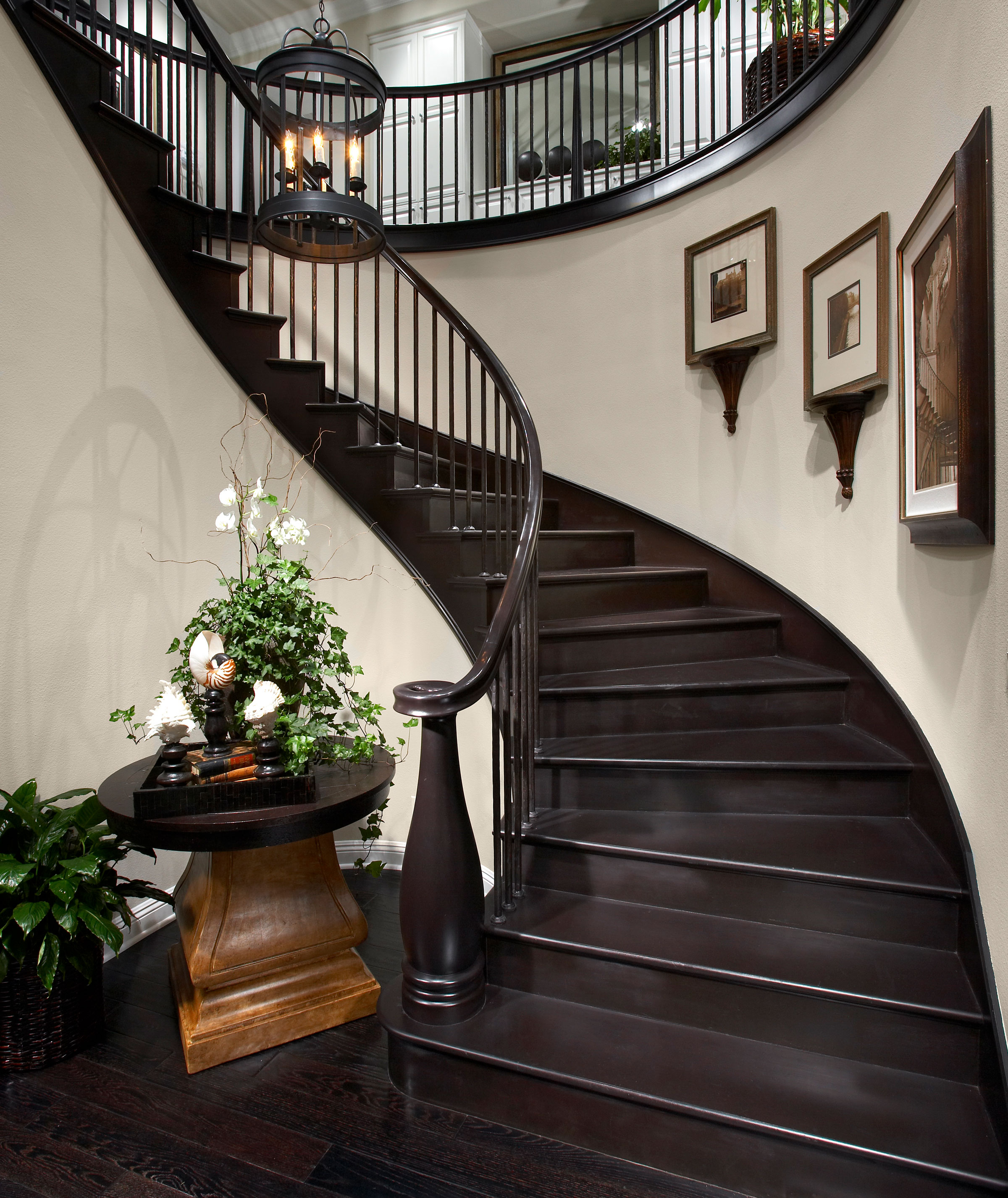 Inspiring Spiral Staircase: Saroyan Hardwoods