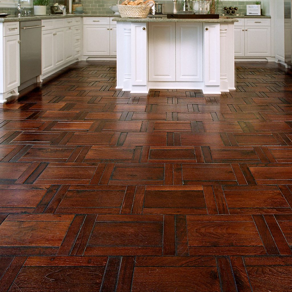 Kitchen with Parquet Hardwood Floor  Inspiration Saroyan Hardwoods Inspiration Kitchen Parquet Coastal 1024x1024