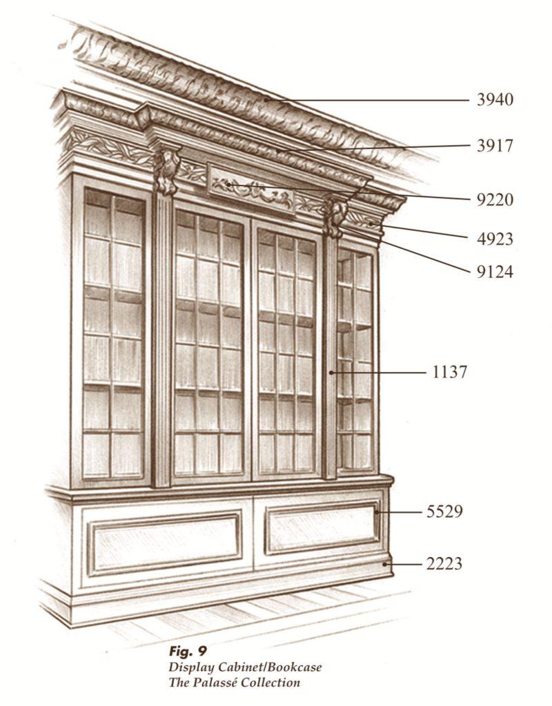 The Palassé™ Collection Saroyan Hardwoods Palasse Collection Cabinet 800x1024