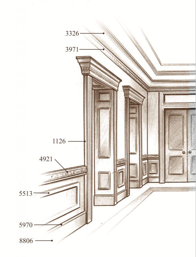 The Palassé™ Collection Saroyan Hardwoods Palasse Collection Hallway 779x1024