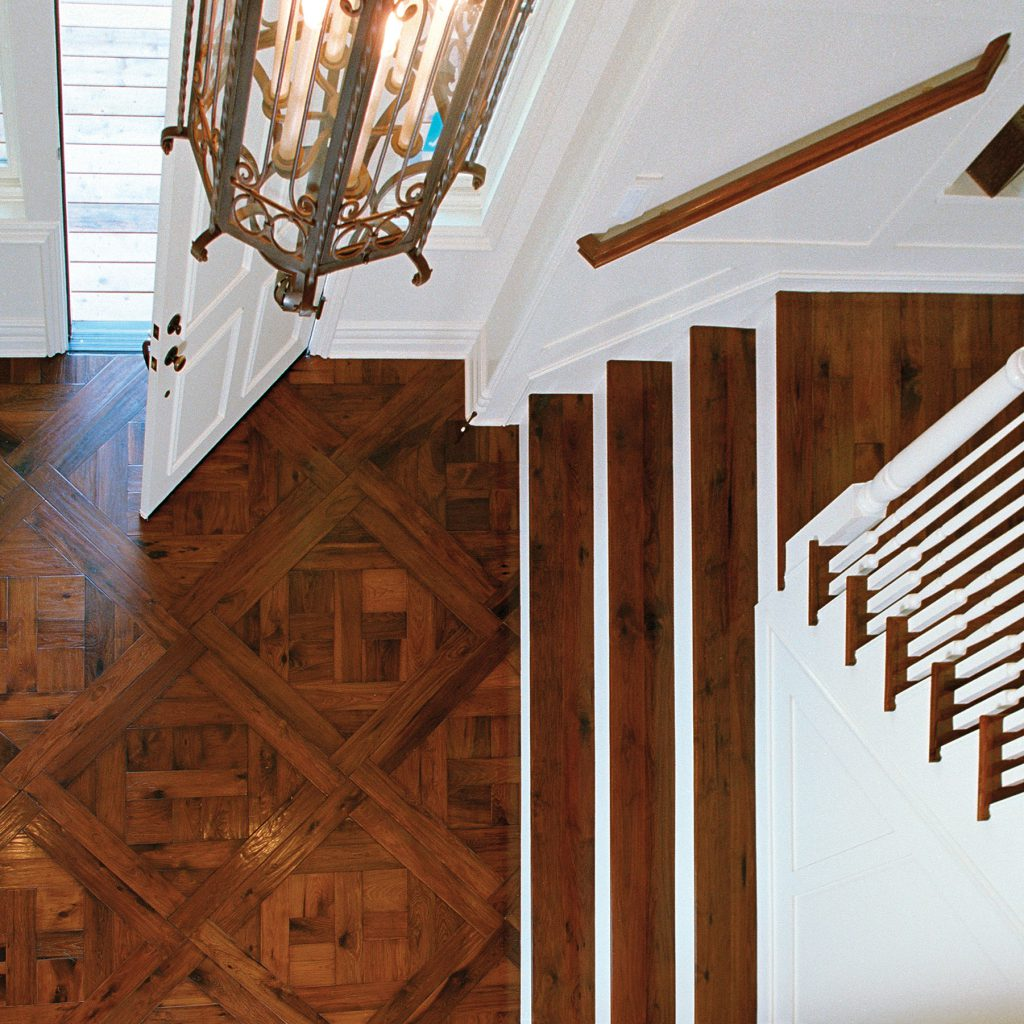 Traditional Parquet Entry with Staircase  Inspiration Saroyan Hardwoods Parquet Entry 1024x1024