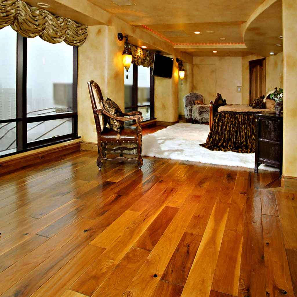 Penthouse Hardwood Flooring Bedroom  Inspiration Saroyan Hardwoods Penthouse Bedroom 1024x1024