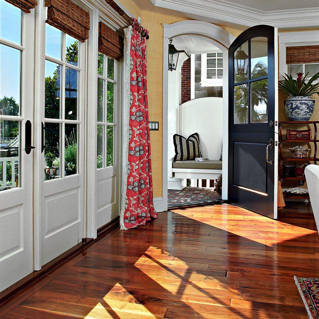 Saroyan Walnut Flooring - Entry Way