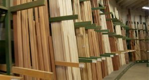 Stock Moulding & Millwork Saroyan Hardwoods Stock Moulding Racks 300x161